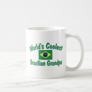 Coolest Brazilian Grandpa Coffee Mugs