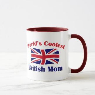 Coolest British Mom Mug