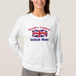 Coolest British Mom T-Shirt