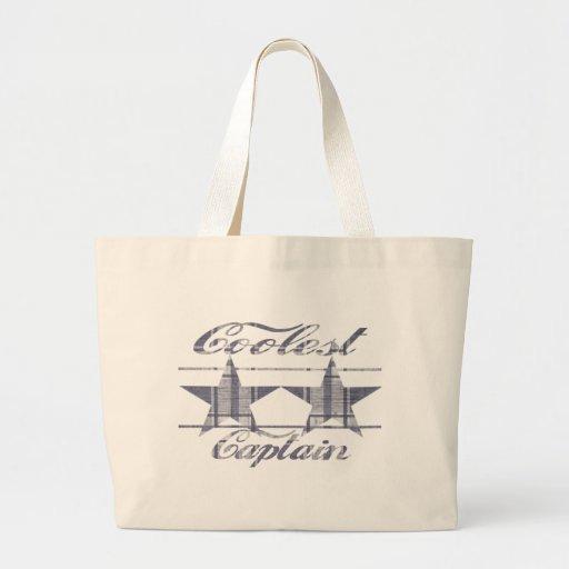 Coolest Captain Tote Bag