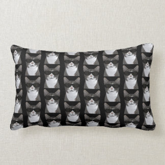 Coolest Cat In Town Lumbar Pillow
