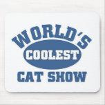 Coolest Cat Show Mousepads