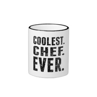 Coolest. Chef. Ever. Ringer Coffee Mug