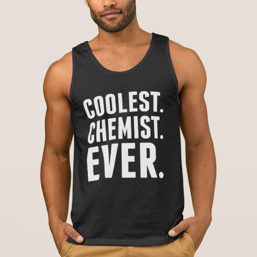 Coolest Chemist Ever Tanks Tank Tops, Tanktops Shirts