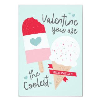 Coolest Classroom Valentine Card