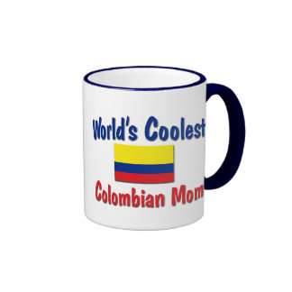 Coolest Colombian Mom Ringer Coffee Mug