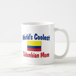 Coolest Colombian Mom Classic White Coffee Mug