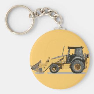 Coolest Construction Excavator Digger Keychain