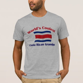 Coolest Costa Rican Grandpa T-Shirt