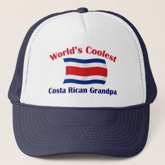 Coolest Costa Rican Grandpa Trucker Hat