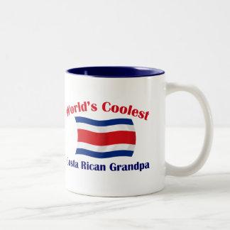 Coolest Costa Rican Grandpa Two-Tone Coffee Mug