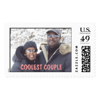 COOLEST COUPLE POSTAGE