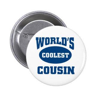Coolest cousin pinback button