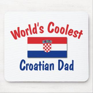 Coolest Croatian Dad Mouse Pad