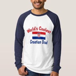 Coolest Croatian Dad T-Shirt