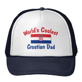 Coolest Croatian Dad Trucker Hat