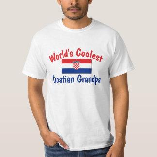 Coolest Croatian Grandpa T-Shirt