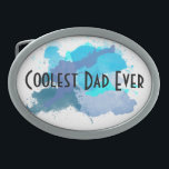 """Coolest Dad Ever Belt Buckle<br><div class=""""desc"""">The belt buckle only for those dads who are the coolest. Ever.</div>"""