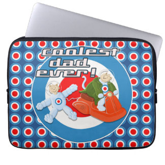 Coolest Dad Ever! Laptop Computer Sleeve