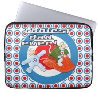 Coolest Dad Ever! Laptop Computer Sleeves