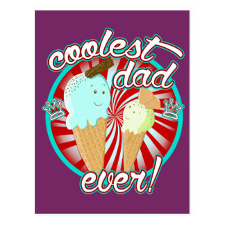 Coolest Dad Ever! Postcard