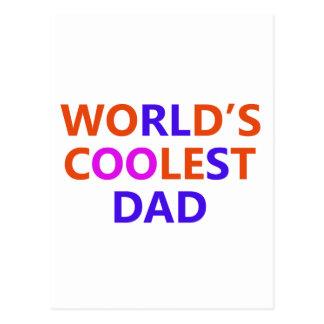 coolest Dad Postcard