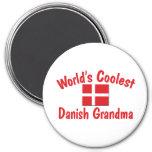 Coolest Danish Grandma Refrigerator Magnets