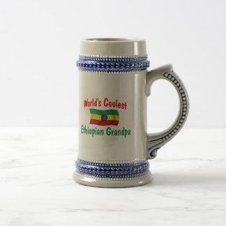 Coolest Ethiopian Grandpa 18 Oz Beer Stein