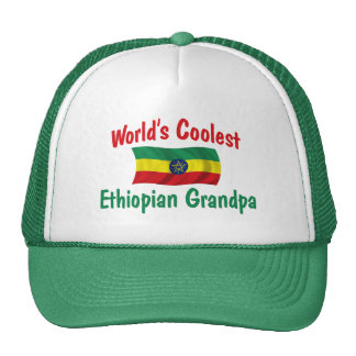 Coolest Ethiopian Grandpa Trucker Hat