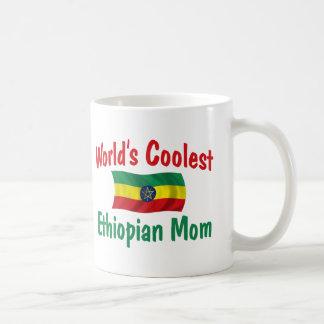 Coolest Ethiopian Mom Coffee Mugs