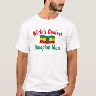 Coolest Ethiopian Mom T-Shirt