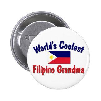 Coolest Filipino Grandma Button