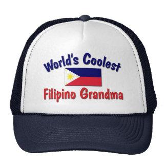 Coolest Filipino Grandma Trucker Hat