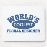 Coolest Floral Designer Mousepad