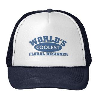Coolest Floral Designer Trucker Hat