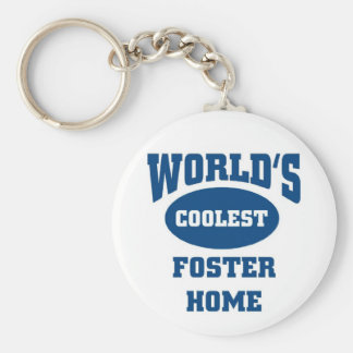 Coolest Foster Home Keychain
