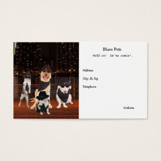 Coolest, Funniest Pet Products Business Cards
