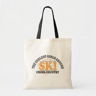Coolest Girls XC Ski Canvas Bag