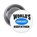 Coolest Godfather 2 Inch Round Button