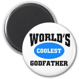 Coolest Godfather 2 Inch Round Magnet