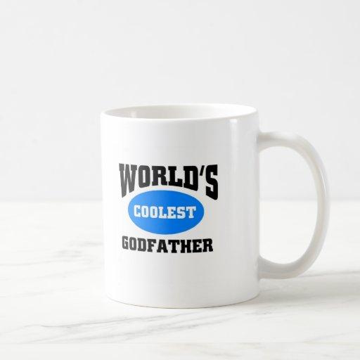 Coolest Godfather Classic White Coffee Mug Zazzle