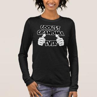 Coolest Grandma Ever Long Sleeve T-Shirt