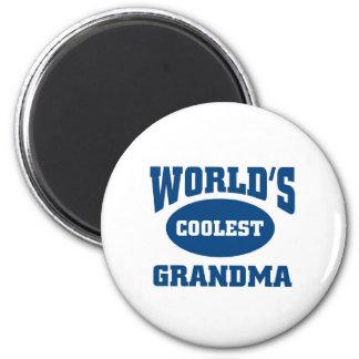 Coolest Grandma Magnet