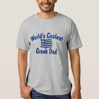 Coolest Greek Dad T-shirt