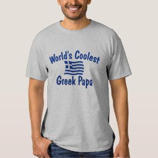 Coolest Greek Papa Shirt