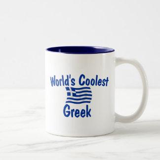 Coolest Greek Two-Tone Coffee Mug