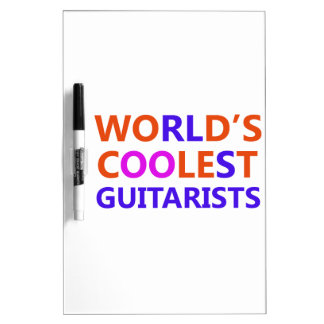 coolest guitarists Dry-Erase whiteboard