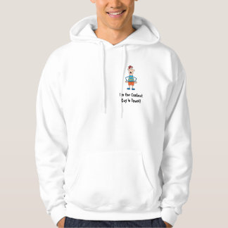 Coolest Guy Hooded Sweatshirt Template