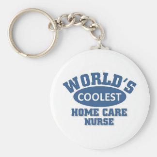coolest Home Care Nurse Key Chain