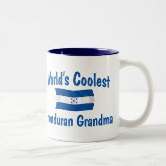 Coolest Honduran Grandma Two-Tone Coffee Mug